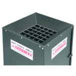 Grillkulsspand grillkul affaldsspand