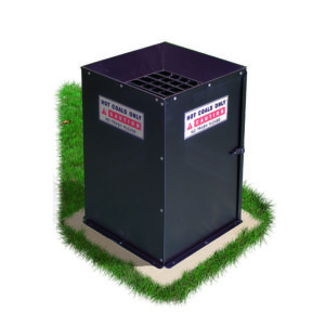 Affaldsspand til Grillkul Grillkul sikkerhed afffald