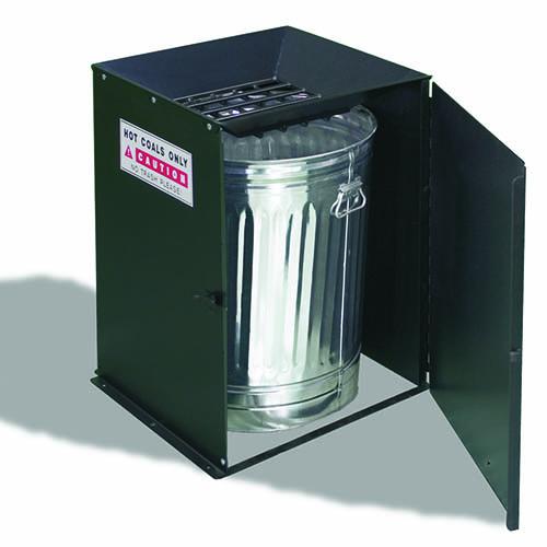 Affaldsspand til grillkul grillkul affaldsspand cigaret askebæger