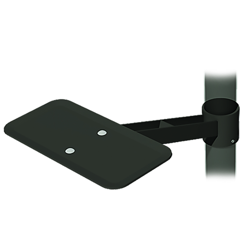 Accessory for wheelchair accessible park grill